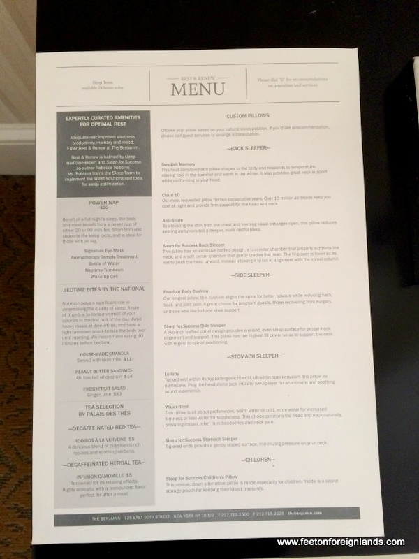 sofitel sydney pillow menu - photo#15