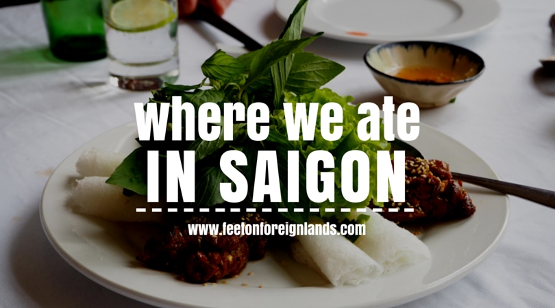 Unique Ho Chi Minh restaurants - Feet on Foreign Lands
